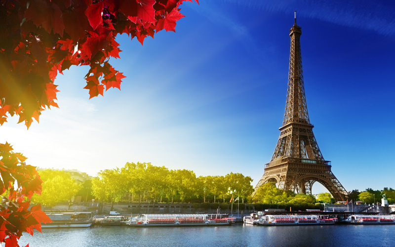 Europe Cruisetours, Eiffel Tower, Paris, France
