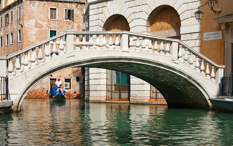 Europe Cruisetours,Gondola ride in Venice, Italy