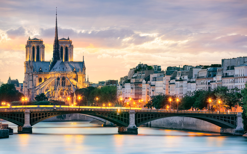 Europe Cruisetours, Notre Dame de Paris, France
