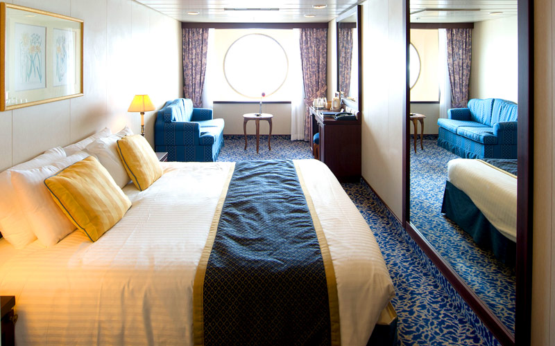 Oceanview Stateroom aboard Fathom Adonia