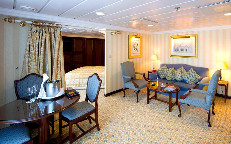 Penthouse Suite aboard Fathom Adonia
