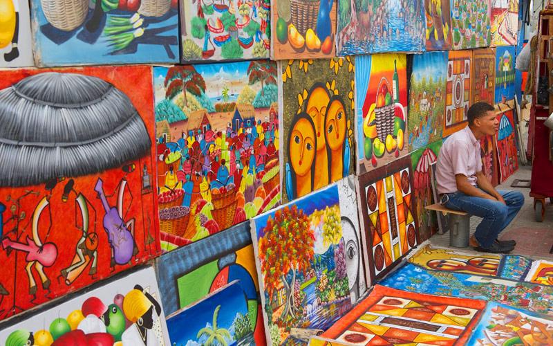 Fathom Cuba Street Artist