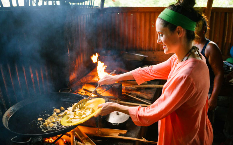Fathom Dominican Republic Woman Cooking