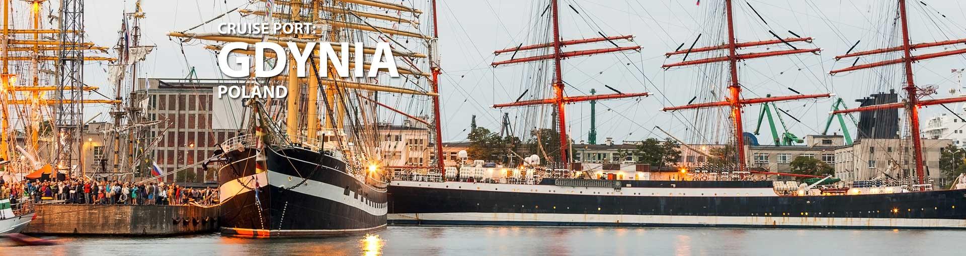 Cruises to Gdynia, Poland