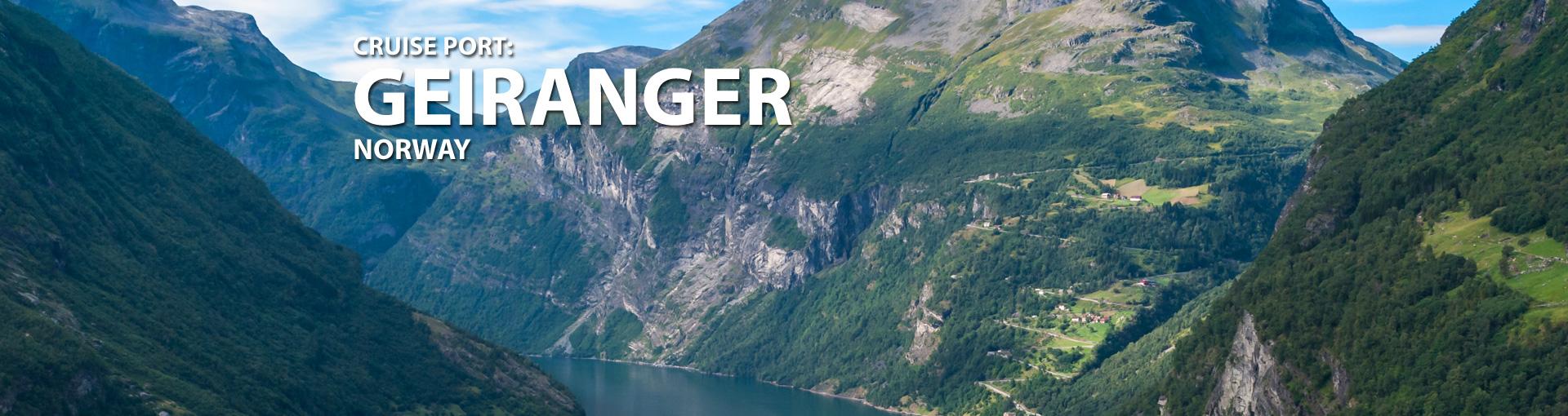 Cruises to Geiranger, Norway