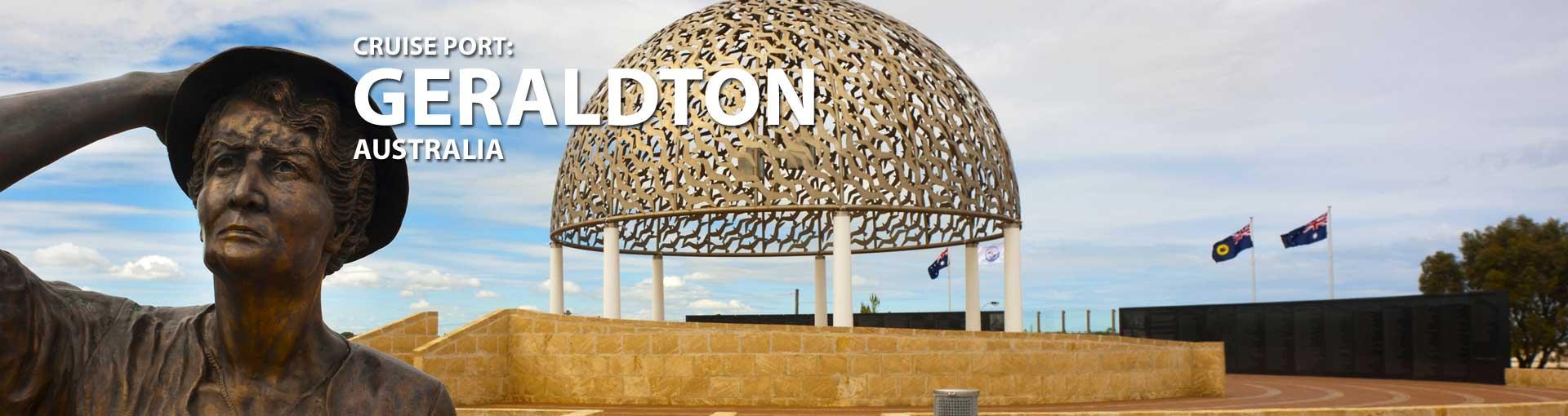 Cruises to Geraldton Australia