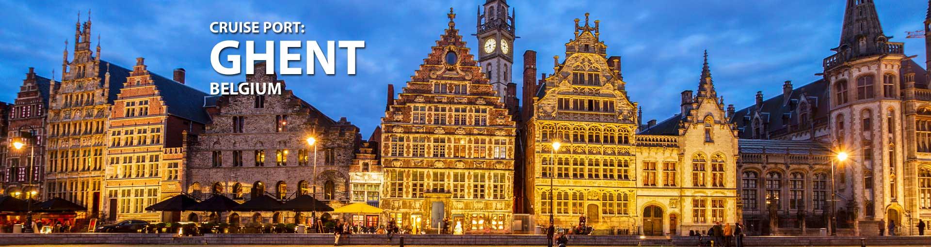 Cruises to Ghent Belgium