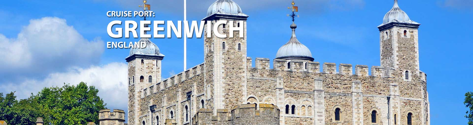 Greenwich, England Cruise Port