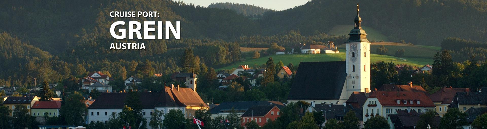 Cruises to Grein, Austria