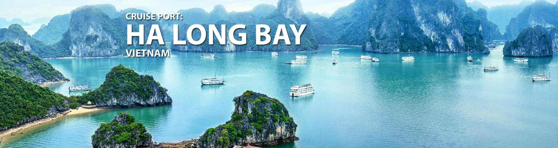 Cruises to Ha Long Bay, Vietnam