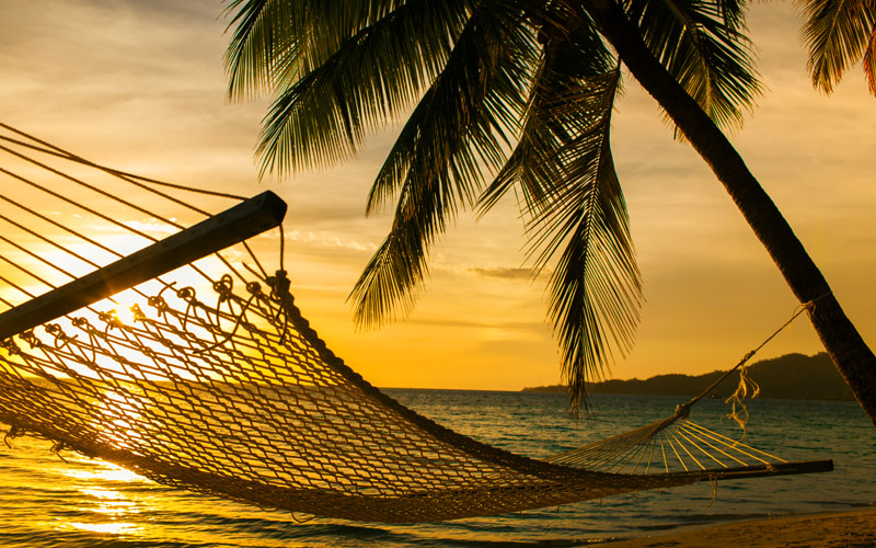 Hammock Sunset Beach