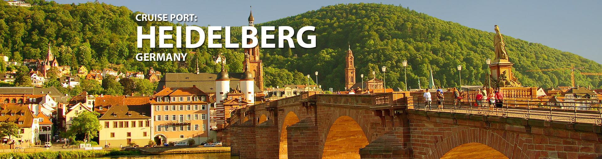 Cruises to Heidelberg,Germany