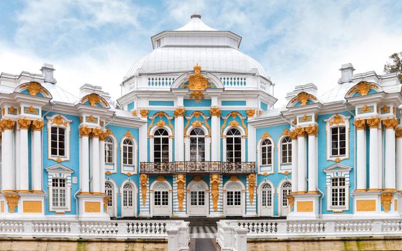 Hermitage Pavilion in St. Petersburg, Russia