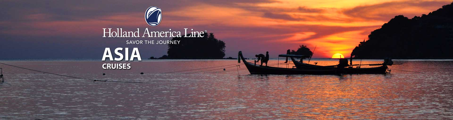 Holland America Asia Cruises