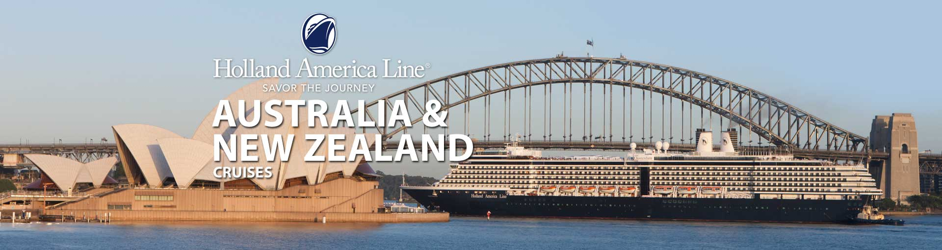 Holland America Australia New Zealand Cruises