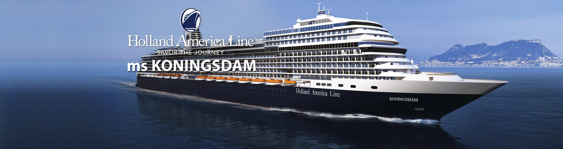 Holland America ms Koningsdam cruise ship