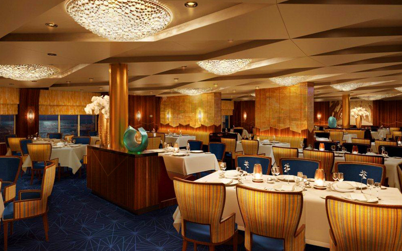 Holland America ms Koningsdam Pinnacle Grill