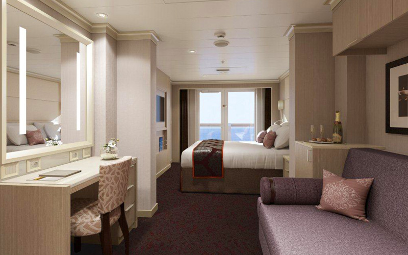 Holland America's ms Koningsdam Cruise Ship, 2018 and 2019 ...