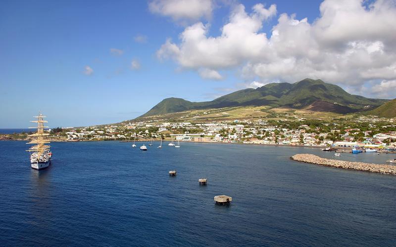port of Basseterre in St. Kitts Holland America