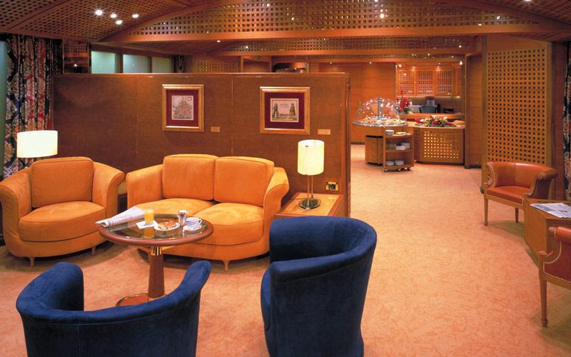 Holland America Line Amsterdam Neptune Lounge