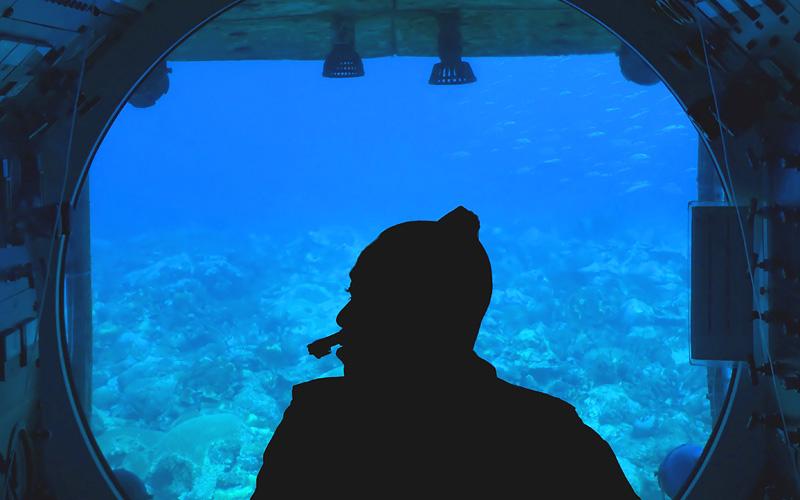 Atlantis Submarine, Barbados Holland America