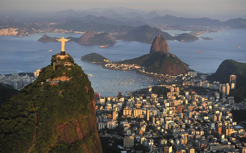 Corcovado Hill Sugarloaf Brazil Holland America