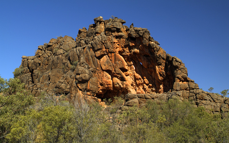 Corroboree Rock Aborogine Sanctuary Holland Americ