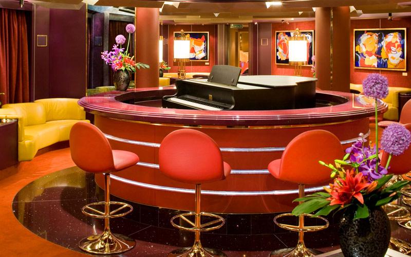 Holland America Line Eurodam piano bar