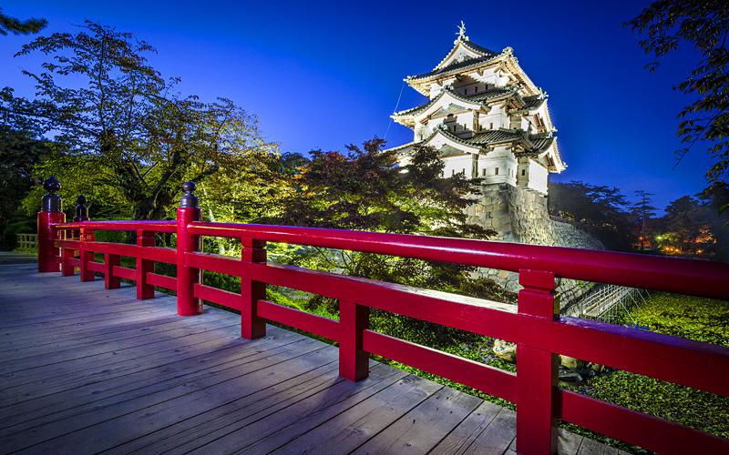 Hirosaki Castle in Hirosaki, Japan Holland America