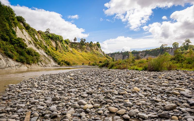 Hutt river, Wellington New Zealand Holland America