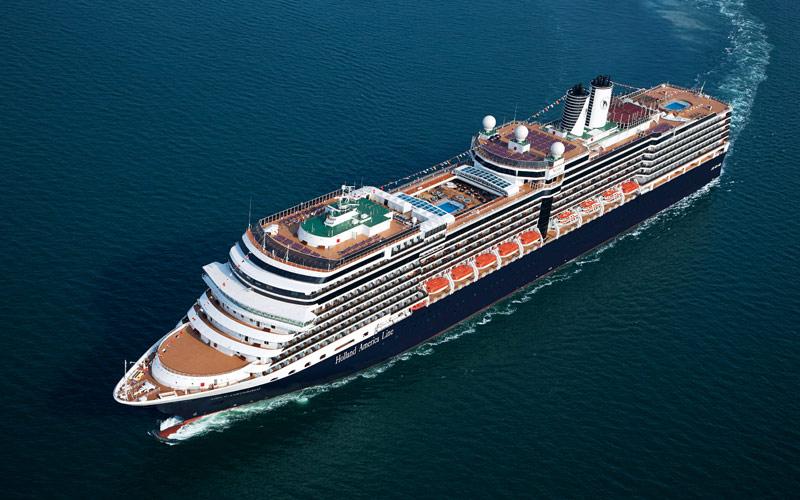 Holland Americas Ms Nieuw Amsterdam Cruise Ship And Ms - Amsterdam cruise ship