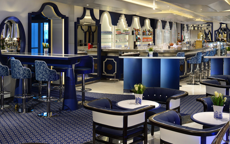 Grand Dutch Cafe aboard Nieuw Statendam