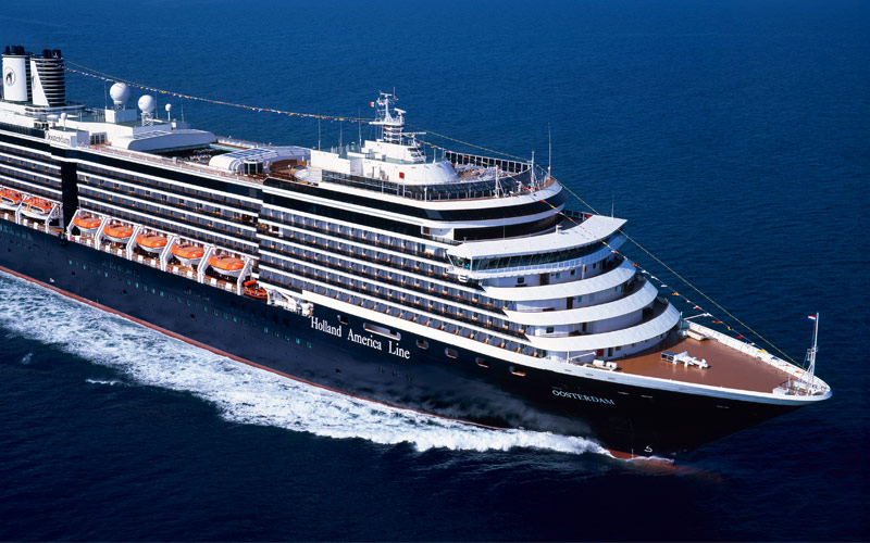 Holland America Line Oosterdam exterior