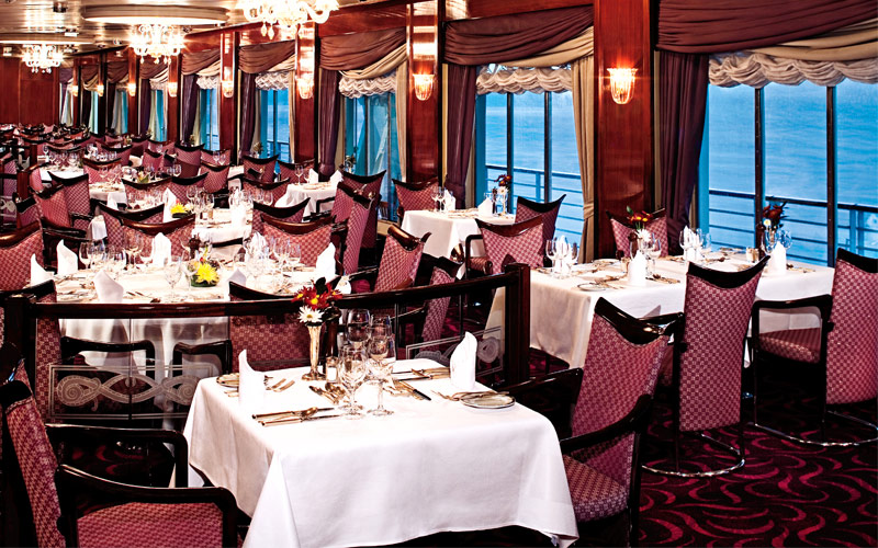 Holland America Line Prinsendam La Fountaine dinin