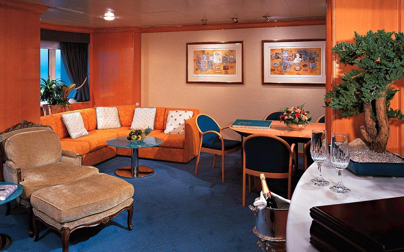 Holland America Line Prinsendam Penthouse Veranda