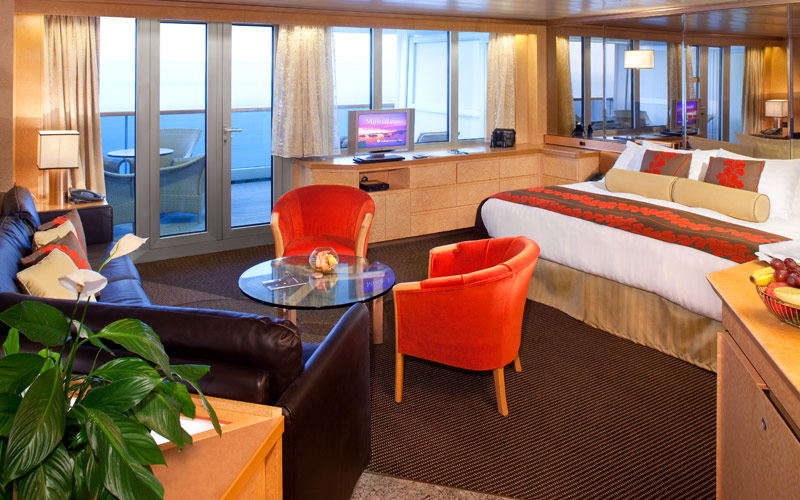 Holland America Line Rotterdam Deluxe Suite