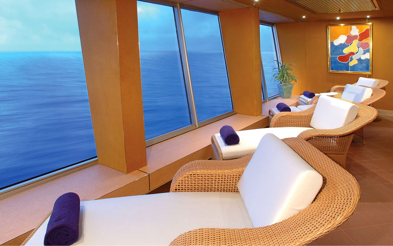 Holland America Line Ryndam Relaxation Room