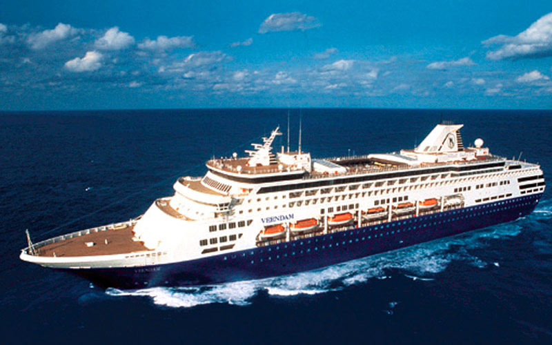 how to call holland america ship