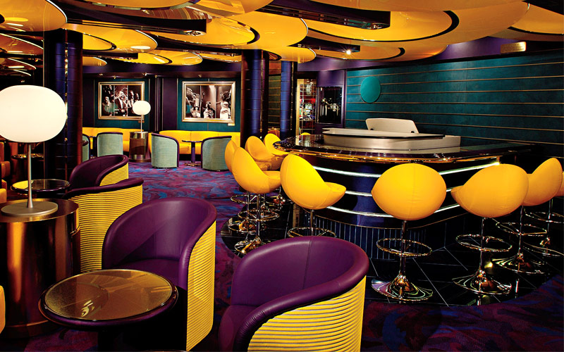 Holland America Line Westerdam Piano Bar