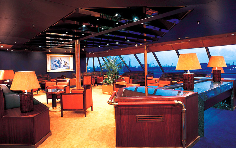 Holland America Line Zaandam Crows Nest