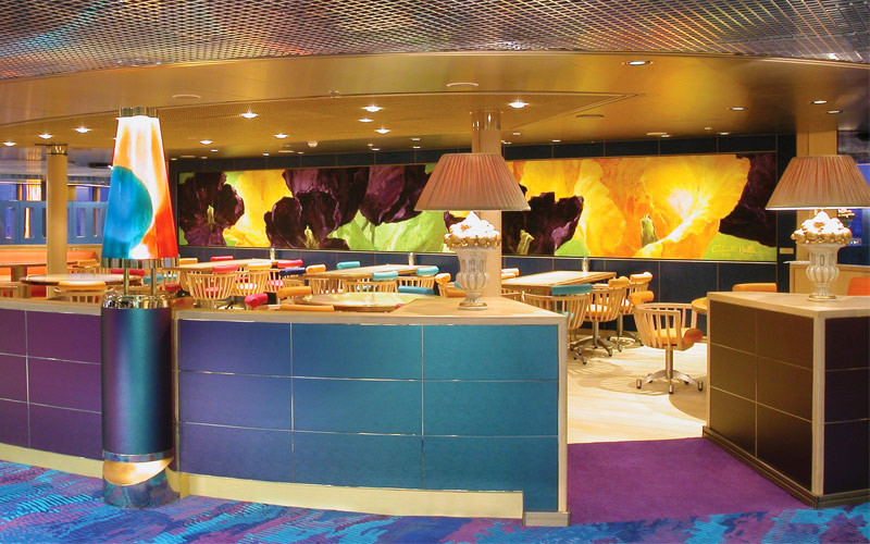 Holland America Line Zuiderdam Lido Restaurant