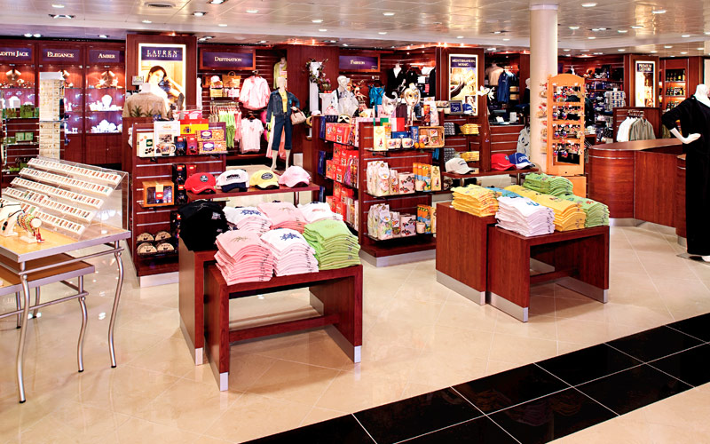 Holland America Line Zuiderdam Shopping