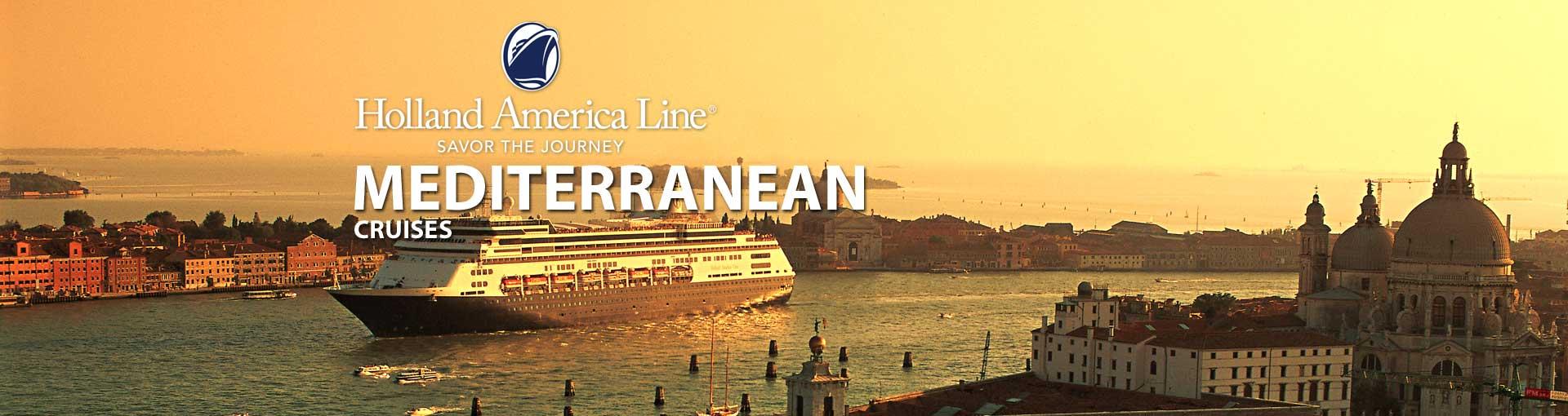 Holland America Mediterranean Cruises