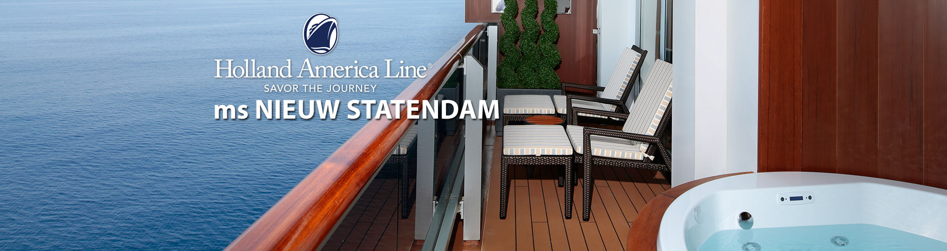Holland America Nieuw Statendam Cruise Ship