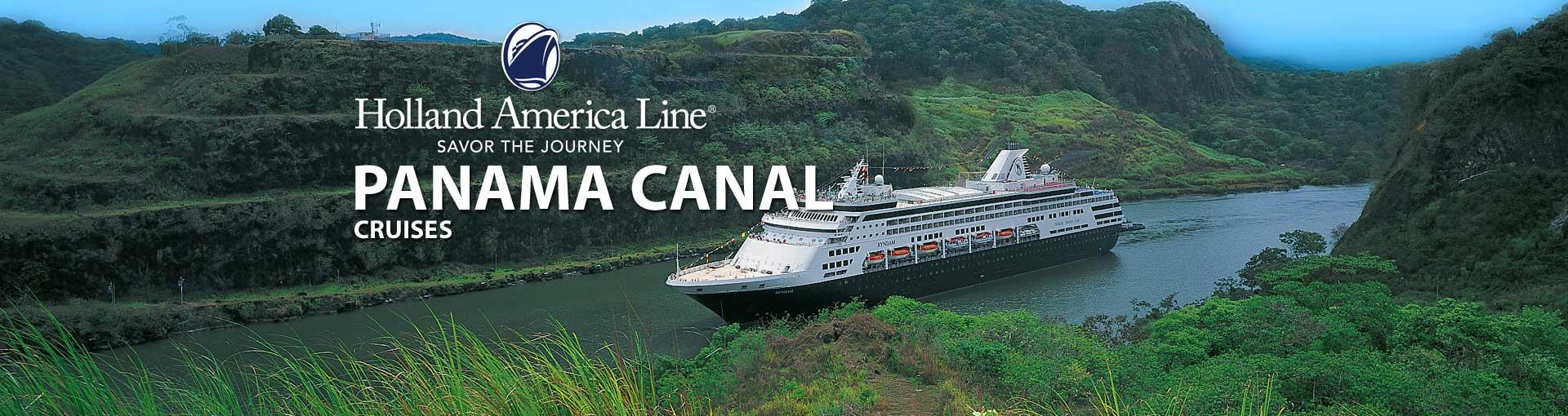 Holland America Panama Canal Cruises