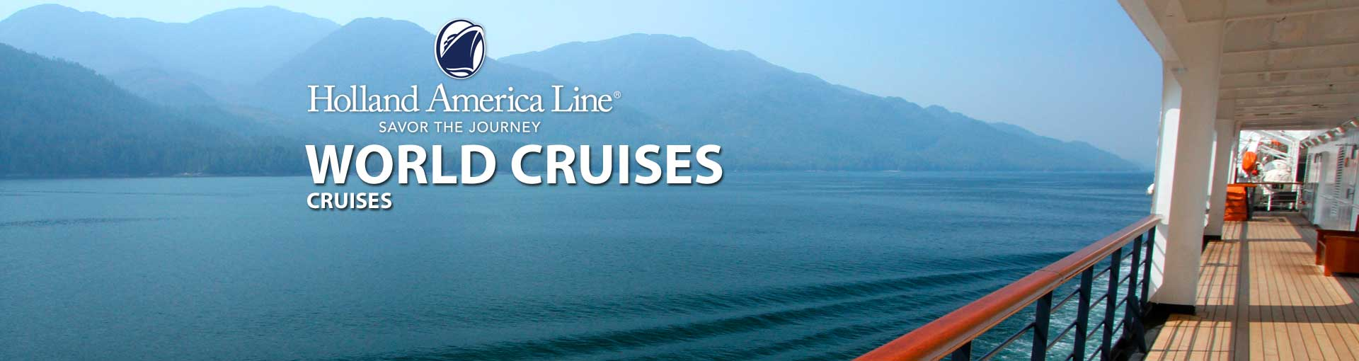Holland America Grand Voyages World Cruises