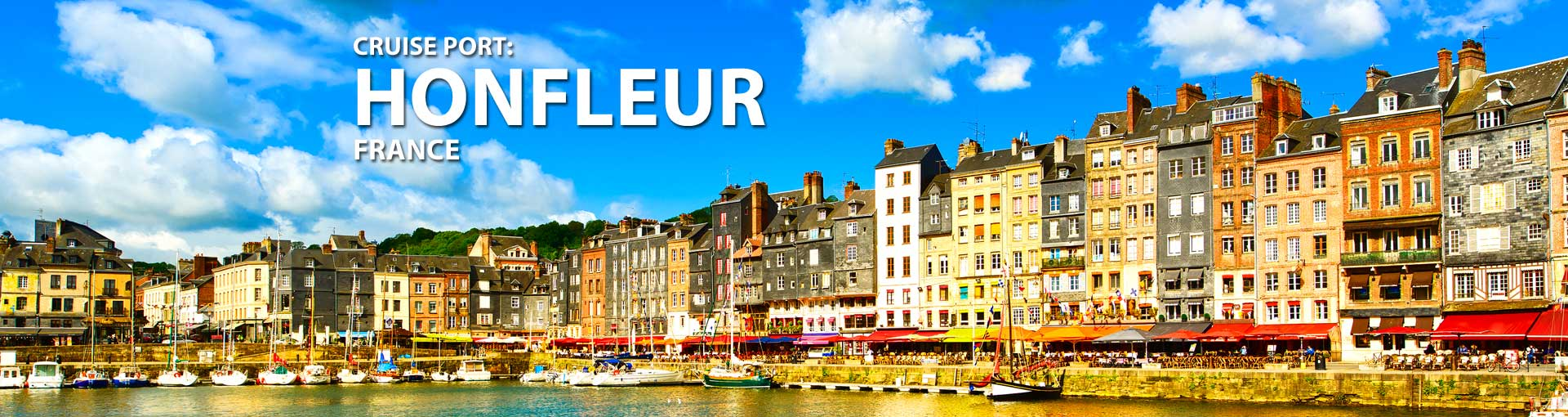 Cruises to Honfleur, France