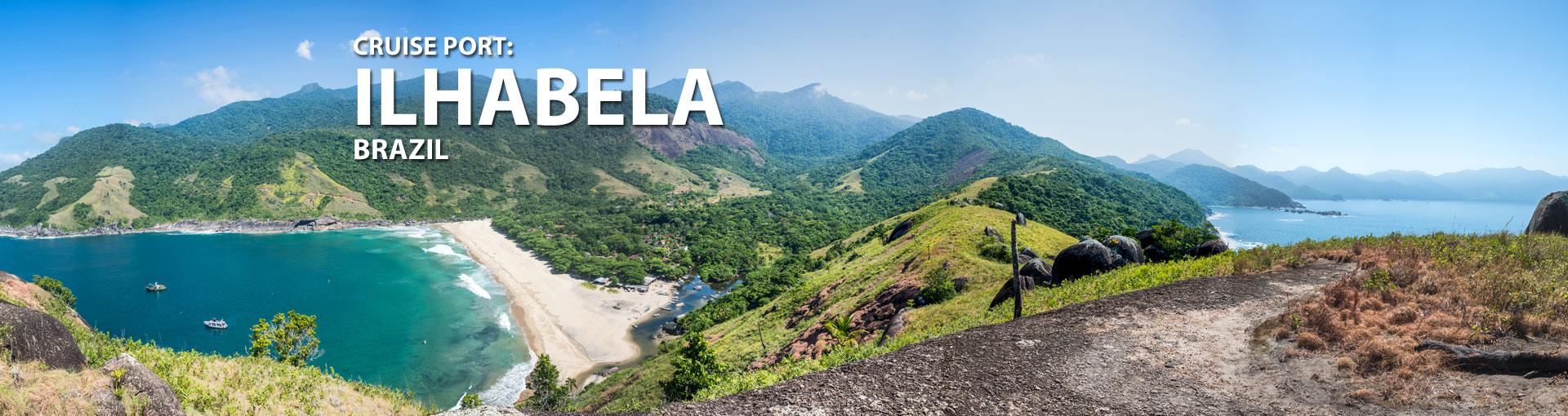 Cruises to Ilhabela, Brazil