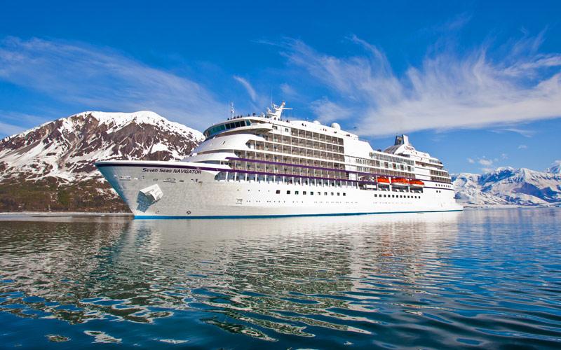 Cruising past Alaska