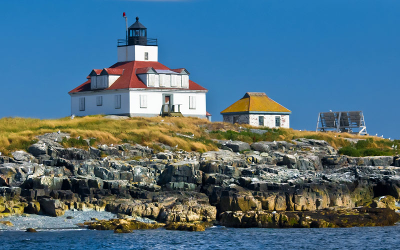 Egg Rock Lighthouse in Maine